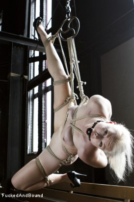 Photo number 1 from Young Slut takes 2 Massive Cocks shot for Fucked and Bound on Kink.com. Featuring Owen Gray, Mickey Mod and Ella Nova in hardcore BDSM & Fetish porn.