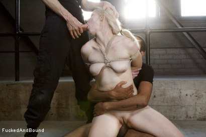 Photo number 11 from Young Slut takes 2 Massive Cocks shot for Fucked and Bound on Kink.com. Featuring Owen Gray, Mickey Mod and Ella Nova in hardcore BDSM & Fetish porn.