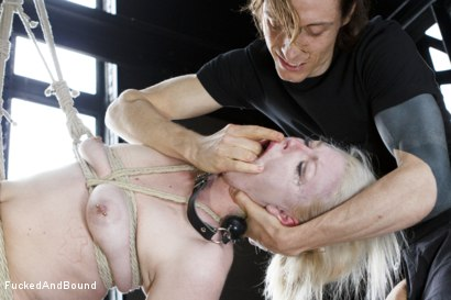 Photo number 3 from Young Slut takes 2 Massive Cocks shot for Fucked and Bound on Kink.com. Featuring Owen Gray, Mickey Mod and Ella Nova in hardcore BDSM & Fetish porn.