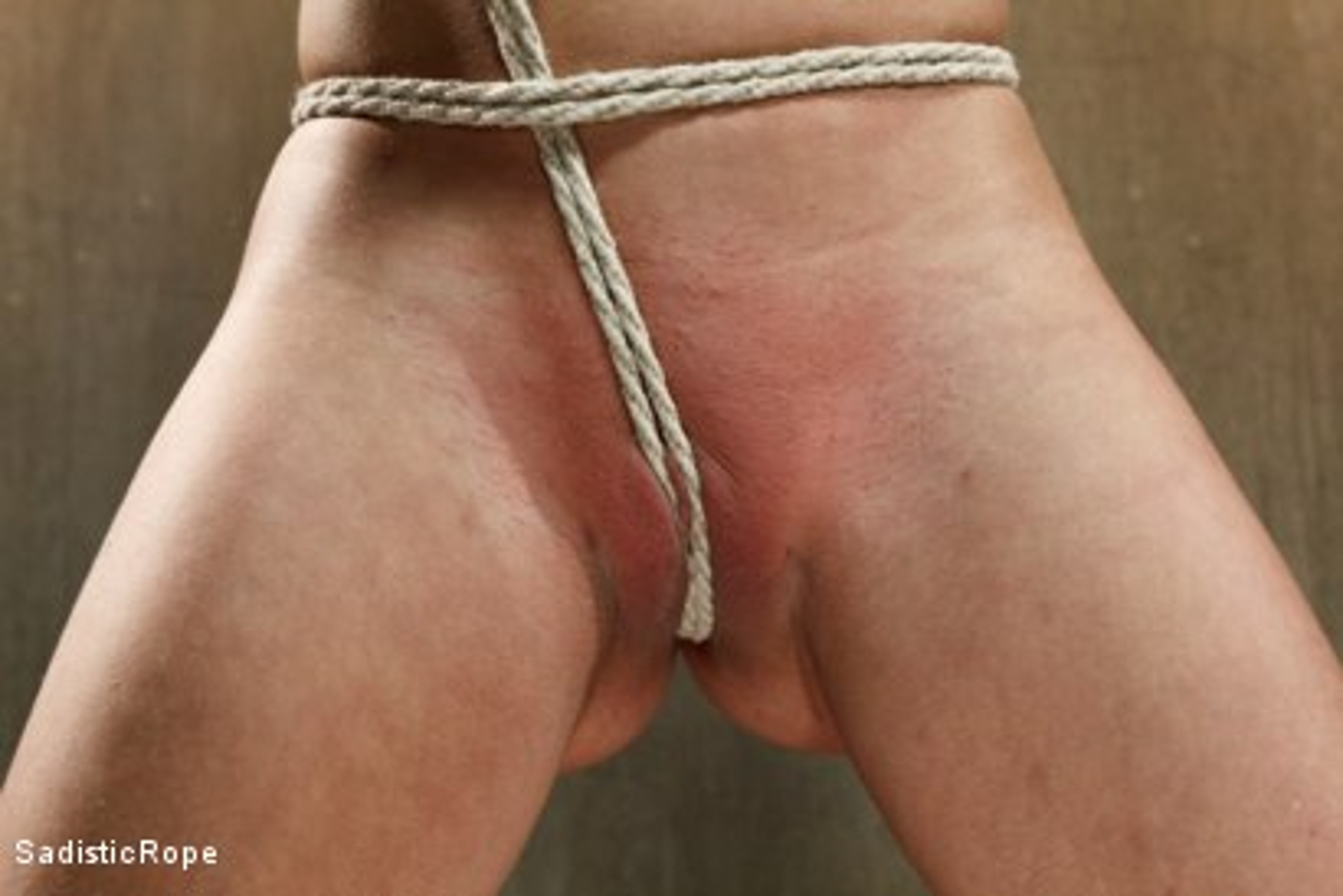 Photo number 6 from Hot Blonde with Big Tits in Brutal Predicament Bondage shot for Sadistic Rope on Kink.com. Featuring Cherie DeVille in hardcore BDSM & Fetish porn.