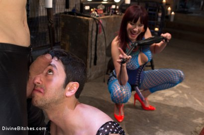 Photo number 17 from Slave pimped out to suck construction worker dick for Maitresse Madeline shot for Divine Bitches on Kink.com. Featuring Maitresse Madeline Marlowe , Jay West and Owen Gray in hardcore BDSM & Fetish porn.