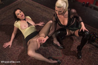 Photo number 4 from Multi Orgasmic Lesbian Slut shot for Whipped Ass on Kink.com. Featuring Sovereign Syre and Cherry Torn in hardcore BDSM & Fetish porn.