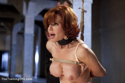 Photo number 4 from The Training of a Nympho Anal MILF, Day Three shot for The Training Of O on Kink.com. Featuring Veronica Avluv and Owen Gray in hardcore BDSM & Fetish porn.