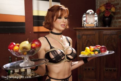 Photo number 3 from The Training of a Nympho Anal MILF, Final Day shot for The Training Of O on Kink.com. Featuring Veronica Avluv and Mickey Mod in hardcore BDSM & Fetish porn.