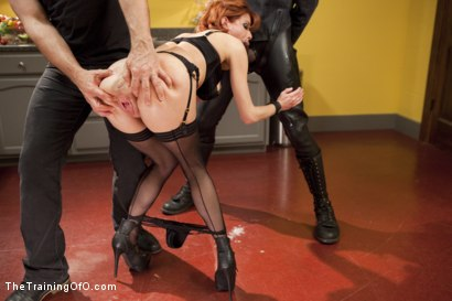 Photo number 9 from The Training of a Nympho Anal MILF, Final Day shot for The Training Of O on Kink.com. Featuring Veronica Avluv and Mickey Mod in hardcore BDSM & Fetish porn.
