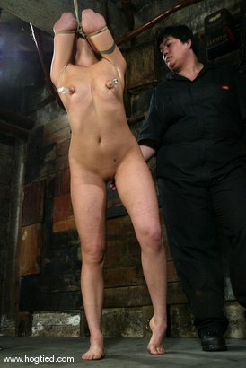 Photo number 9 from Satine Phoenix and Sir C shot for Hogtied on Kink.com. Featuring Sir C and Satine Phoenix in hardcore BDSM & Fetish porn.