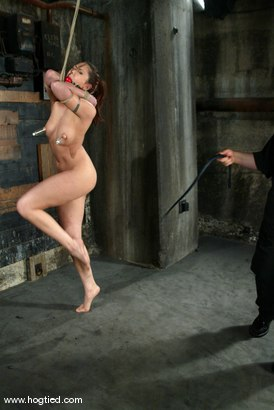Photo number 8 from Satine Phoenix and Sir C shot for Hogtied on Kink.com. Featuring Sir C and Satine Phoenix in hardcore BDSM & Fetish porn.