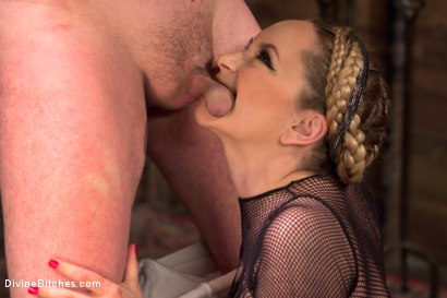 Photo number 9 from Extreme Femdom Chastity shot for Divine Bitches on Kink.com. Featuring Bastian Daniels and Aiden Starr in hardcore BDSM & Fetish porn.