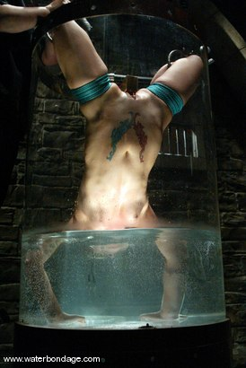 Photo number 1 from Angelene Black and Sir C shot for Water Bondage on Kink.com. Featuring Angelene Black and Sir C in hardcore BDSM & Fetish porn.
