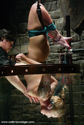 Photo number 4 from Angelene Black and Sir C shot for Water Bondage on Kink.com. Featuring Angelene Black and Sir C in hardcore BDSM & Fetish porn.