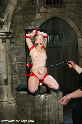 Photo number 12 from Angelene Black and Sir C shot for Water Bondage on Kink.com. Featuring Angelene Black and Sir C in hardcore BDSM & Fetish porn.