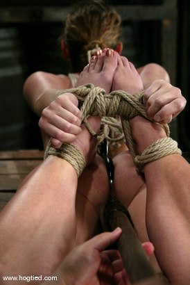 Photo number 13 from Lola and Sir C shot for Hogtied on Kink.com. Featuring Sir C and Lola in hardcore BDSM & Fetish porn.