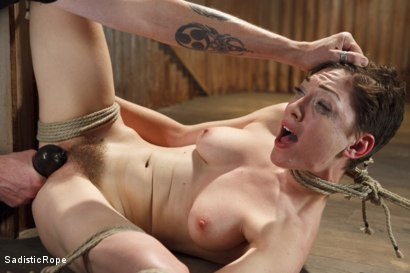 Lily LaBeau Endures Extreme Bondage, Brutal Foot Torture, and Screaming Orgasms!!
