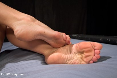 Photo number 5 from Peanut Butter and Jelly Toe Sandwiches: Lesbian Foot Sploshing!!! shot for Foot Worship on Kink.com. Featuring Dahlia Sky and Ana Foxxx in hardcore BDSM & Fetish porn.