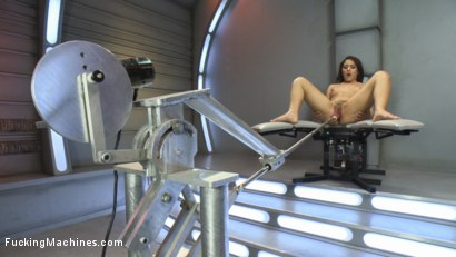 Photo number 4 from Light it UP - New Girl, Tight Pussy, Machines that Don't Care shot for Fucking Machines on Kink.com. Featuring Liv Aguilera in hardcore BDSM & Fetish porn.