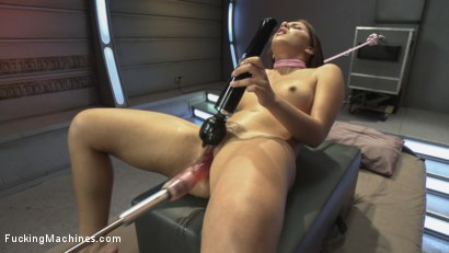 Photo number 11 from Light it UP - New Girl, Tight Pussy, Machines that Don't Care shot for Fucking Machines on Kink.com. Featuring Liv Aguilera in hardcore BDSM & Fetish porn.