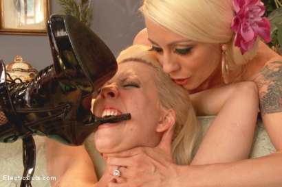 Photo number 8 from Stepsisters: Part Two shot for Electro Sluts on Kink.com. Featuring Cherry Torn, Ella Nova  and Lorelei Lee in hardcore BDSM & Fetish porn.