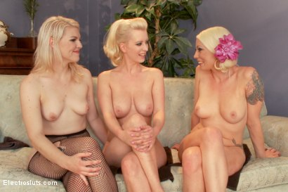 Photo number 2 from Stepsisters: Part Two shot for Electro Sluts on Kink.com. Featuring Cherry Torn, Ella Nova  and Lorelei Lee in hardcore BDSM & Fetish porn.
