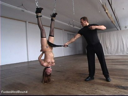 Photo number 5 from The Kinky Slut shot for  on Kink.com. Featuring Delilah Strong and Marcus London in hardcore BDSM & Fetish porn.