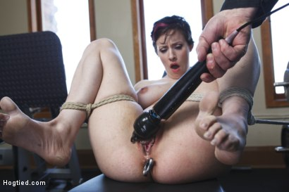 Photo number 12 from Gym Babe Taken and Tormented shot for Hogtied on Kink.com. Featuring Sgt. Major and Iona Grace in hardcore BDSM & Fetish porn.