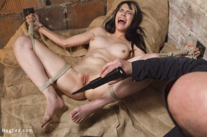 Photo number 10 from Taken, Tied and Tortured shot for Hogtied on Kink.com. Featuring Sgt. Major and Katt Anomia in hardcore BDSM & Fetish porn.