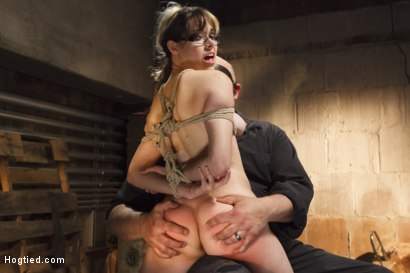 Photo number 13 from Taken, Tied and Tortured shot for Hogtied on Kink.com. Featuring Sgt. Major and Katt Anomia in hardcore BDSM & Fetish porn.