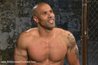 Photo number 15 from Muscled God Robert Axel takes the challenge! shot for 30 Minutes of Torment on Kink.com. Featuring Robert Axel in hardcore BDSM & Fetish porn.