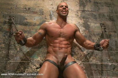 Muscled God Robert Axel takes the challenge!