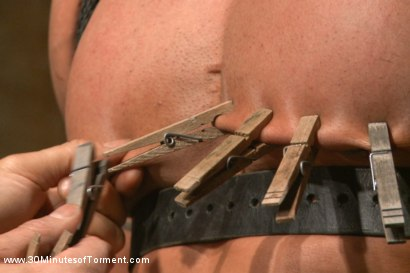 Photo number 8 from Muscled God Robert Axel takes the challenge! shot for 30 Minutes of Torment on Kink.com. Featuring Robert Axel in hardcore BDSM & Fetish porn.
