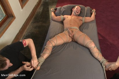 Photo number 10 from Hot new stud Luke Adams gets relentlessly edged and fucked to cum shot for Men On Edge on Kink.com. Featuring Luke Adams in hardcore BDSM & Fetish porn.