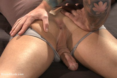 Photo number 3 from 12 Days a Slave shot for Bound Gods on Kink.com. Featuring Christian Wilde and Luke Adams in hardcore BDSM & Fetish porn.