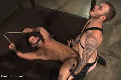 Photo number 12 from 12 Days a Slave shot for Bound Gods on Kink.com. Featuring Christian Wilde and Luke Adams in hardcore BDSM & Fetish porn.