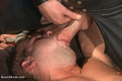 Photo number 14 from 12 Days a Slave shot for Bound Gods on Kink.com. Featuring Christian Wilde and Luke Adams in hardcore BDSM & Fetish porn.