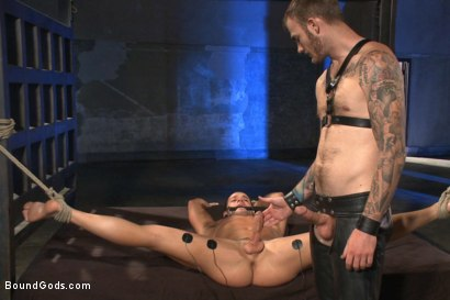 Photo number 10 from 12 Days a Slave shot for Bound Gods on Kink.com. Featuring Christian Wilde and Luke Adams in hardcore BDSM & Fetish porn.