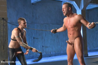 Photo number 8 from 12 Days a Slave shot for Bound Gods on Kink.com. Featuring Christian Wilde and Luke Adams in hardcore BDSM & Fetish porn.
