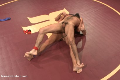 """Photo number 8 from Rich """"The Wrecking-Ball"""" Kelly vs Jacob """"The Bull"""" Durham shot for nakedkombat on Kink.com. Featuring Rich Kelly and Jacob Durham in hardcore BDSM & Fetish porn."""