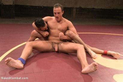 """Photo number 9 from Rich """"The Wrecking-Ball"""" Kelly vs Jacob """"The Bull"""" Durham shot for nakedkombat on Kink.com. Featuring Rich Kelly and Jacob Durham in hardcore BDSM & Fetish porn."""