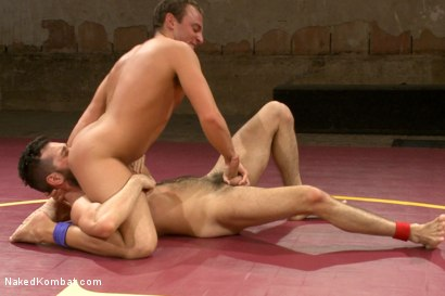 """Photo number 7 from Rich """"The Wrecking-Ball"""" Kelly vs Jacob """"The Bull"""" Durham shot for nakedkombat on Kink.com. Featuring Rich Kelly and Jacob Durham in hardcore BDSM & Fetish porn."""