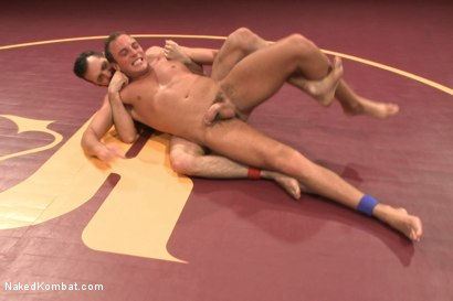 "Photo number 3 from Rich ""The Wrecking-Ball"" Kelly vs Jacob ""The Bull"" Durham shot for Naked Kombat on Kink.com. Featuring Rich Kelly and Jacob Durham in hardcore BDSM & Fetish porn."