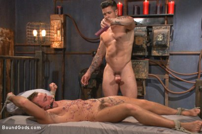 Photo number 3 from Bondage Envy shot for Bound Gods on Kink.com. Featuring Trenton Ducati, Ian Levine and Jacob Durham in hardcore BDSM & Fetish porn.