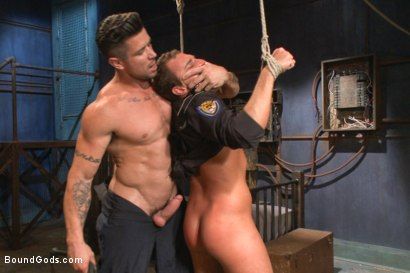 Photo number 4 from Bondage Envy shot for Bound Gods on Kink.com. Featuring Trenton Ducati, Ian Levine and Jacob Durham in hardcore BDSM & Fetish porn.
