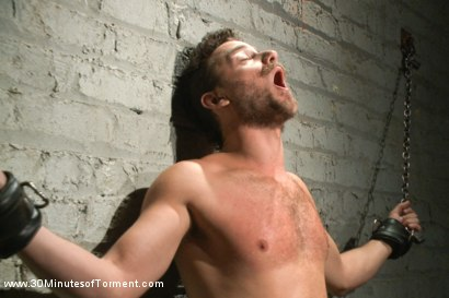 Photo number 14 from One of the most intense 30MT to date! shot for 30 Minutes of Torment on Kink.com. Featuring Leon Fox in hardcore BDSM & Fetish porn.