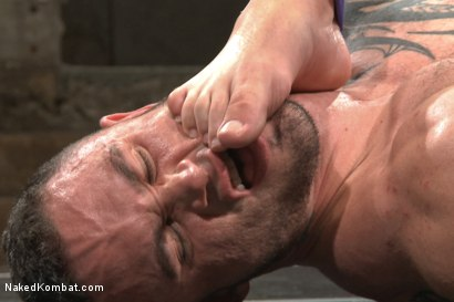 Photo number 8 from Goliath VS Machine - Which Muscled God Gets His Ass Fucked?! shot for Naked Kombat on Kink.com. Featuring Seven Dixon and Mitch Vaughn in hardcore BDSM & Fetish porn.