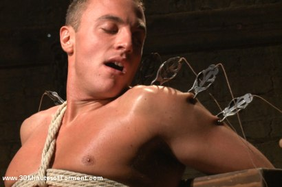 Photo number 4 from Jacob Durham gets oiled down, beaten, and fucked like an animal shot for 30 Minutes of Torment on Kink.com. Featuring Jacob Durham in hardcore BDSM & Fetish porn.