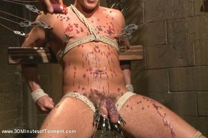 Photo number 9 from Jacob Durham gets oiled down, beaten, and fucked like an animal shot for 30 Minutes of Torment on Kink.com. Featuring Jacob Durham in hardcore BDSM & Fetish porn.