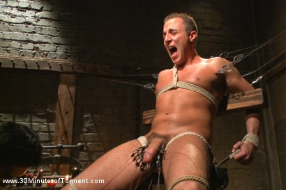 Photo number 5 from Jacob Durham gets oiled down, beaten, and fucked like an animal shot for 30 Minutes of Torment on Kink.com. Featuring Jacob Durham in hardcore BDSM & Fetish porn.