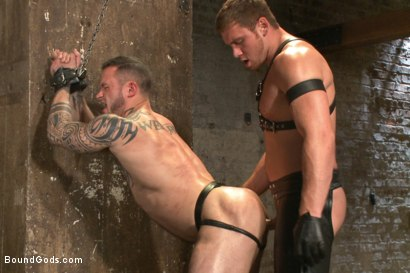 Photo number 6 from New Muscle Stud Bound Beaten and Fucked shot for Bound Gods on Kink.com. Featuring Seven Dixon and Connor Maguire in hardcore BDSM & Fetish porn.