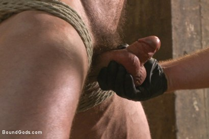 Photo number 8 from New Muscle Stud Bound Beaten and Fucked shot for Bound Gods on Kink.com. Featuring Seven Dixon and Connor Maguire in hardcore BDSM & Fetish porn.