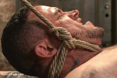 Photo number 10 from New Muscle Stud Bound Beaten and Fucked shot for Bound Gods on Kink.com. Featuring Seven Dixon and Connor Maguire in hardcore BDSM & Fetish porn.