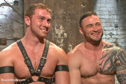 Photo number 15 from New Muscle Stud Bound Beaten and Fucked shot for Bound Gods on Kink.com. Featuring Seven Dixon and Connor Maguire in hardcore BDSM & Fetish porn.